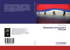 Bookcover of Правовая культура в России