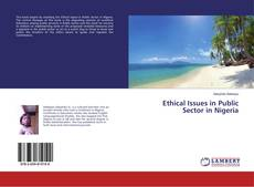 Bookcover of Ethical Issues in Public Sector in Nigeria