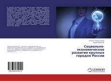 Bookcover of Социально-экономическое развитие крупных городов России