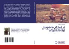 Bookcover of Importation of Chick Lit in Turkey via Translations and/or Rewritings