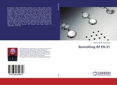 Buchcover von Burnishing Of EN-31