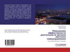 Повышение эффективности деятельности органов местного самоуправления kitap kapağı