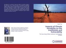 Buchcover von Impacts of Climate Variability on the Livelihoods and Vulnerability
