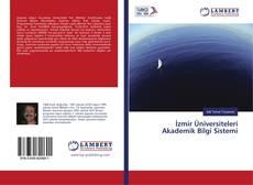Capa do livro de İzmir Üniversiteleri Akademik Bilgi Sistemi