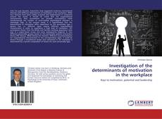 Investigation of the determinants of motivation in the workplace kitap kapağı