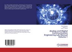 Capa do livro de Analog and Digital Communication Engineering Lab Manual Volume-1