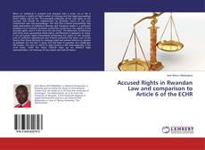 Bookcover of Accused Rights in Rwandan Law and comparison to Article 6 of the ECHR