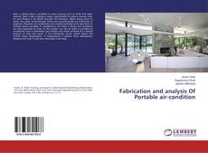 Bookcover of Fabrication and analysis Of Portable air-condition