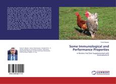 Buchcover von Some Immunological and Performance Properties