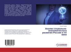 Bookcover of Анализ социально-экономического развития России в XXI веке