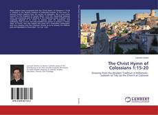 Buchcover von The Christ Hymn of Colossians 1:15-20