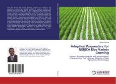 Bookcover of Adoption Parameters for NERICA Rice Variety Growing