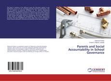 Borítókép a  Parents and Social Accountability in School Governance - hoz