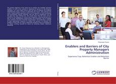 Capa do livro de Enablers and Barriers of City Property Managers Administration