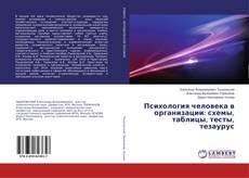 Copertina di Психология человека в организации: схемы, таблицы, тесты, тезаурус