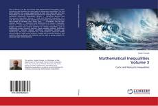 Bookcover of Mathematical Inequalities Volume 3