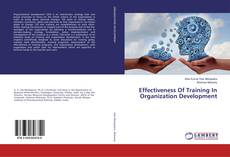 Bookcover of Effectiveness Of Training In Organization Development