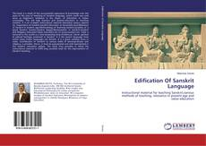 Edification Of Sanskrit Language kitap kapağı