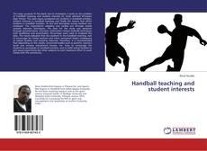 Обложка Handball teaching and student interests