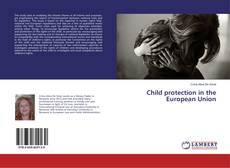 Обложка Child protection in the European Union