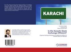 Portada del libro de Is the Karachi Stock Exchange Efficient?