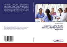 Bookcover of Supervising the Health Bosses: A comprehensive approach