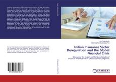 Couverture de Indian Insurance Sector Deregulation and the Global Financial Crisis