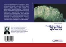 Bookcover of Морфометрия и морфогенез кристаллов