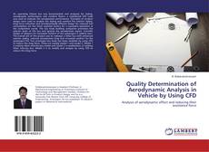 Capa do livro de Quality Determination of Aerodynamic Analysis in Vehicle by Using CFD