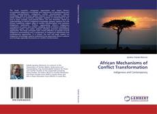 Copertina di African Mechanisms of Conflict Transformation