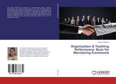 Capa do livro de Organization & Teaching Performance: Basis for Monitoring Framework