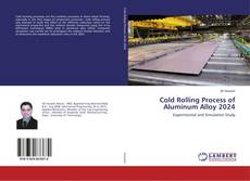 Buchcover von Cold Rolling Process of Aluminum Alloy 2024