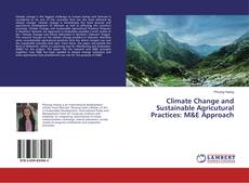Capa do livro de Climate Change and Sustainable Agricutural Practices: M&E Approach