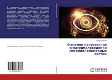 Bookcover of Феномен наностояния в материаловедении металлополимерных систем