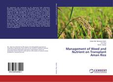 Bookcover of Management of Weed and Nutrient on Transplant Aman Rice