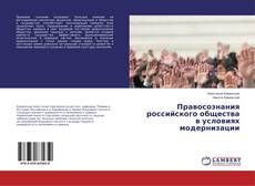 Bookcover of Правосознания российского общества в условиях модернизации