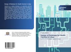 Bookcover of Design of Database for Health Centres in Libya