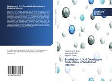 Bookcover of Studies on 1, 3, 4 Oxadiazole Derivatives of Medicinal Interest