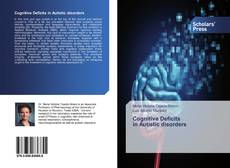 Cognitive Deficits in Autistic disorders kitap kapağı