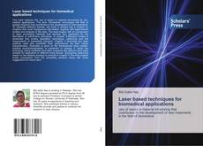 Capa do livro de Laser based techniques for biomedical applications
