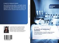 Capa do livro de In search of molecular domains