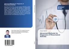 Buchcover von Advanced Methods for Diagnosis of Rheumatoid Arthritis