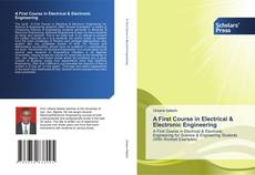 A First Course in Electrical & Electronic Engineering kitap kapağı