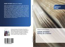 Bookcover of NADIR AFONSO theory as a lesson