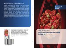 Portada del libro de Major Techniques in Platelet Research