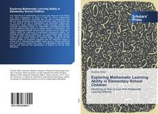 Capa do livro de Exploring Mathematic Learning Ability in Elementary School Children