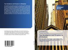 Capa do livro de Tax Avoidance and Evasion in Zimbabwe