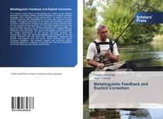 Metalinguistic Feedback and Explicit Correction的封面
