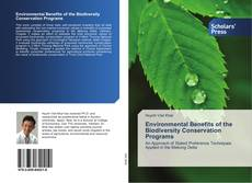 Bookcover of Environmental Benefits of the Biodiversity Conservation Programs