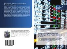 Determinants of Nominal Exchange Rate Fluctuations in Kenya kitap kapağı